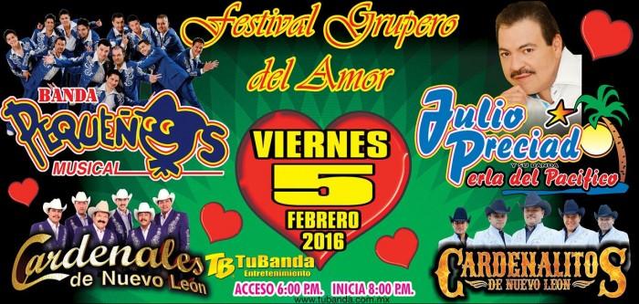 Pequeños Musical y Julio Preciado presentes en el Festival Grupero del Amor