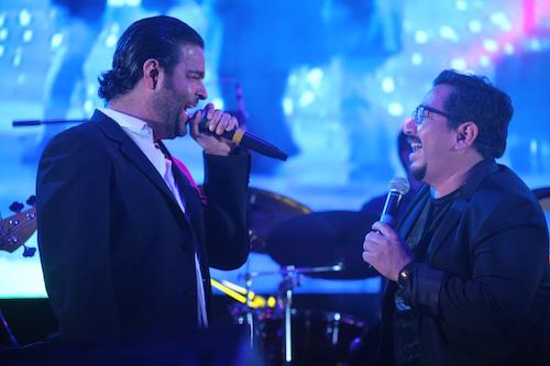 Carlos Macías y Pablo Montero