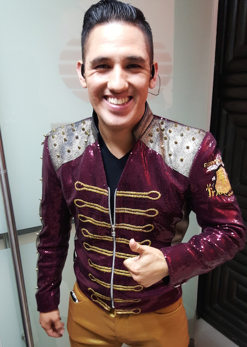 Jose Alfredo Talamantes, segunda voz de La Trakalosa de Monterrey
