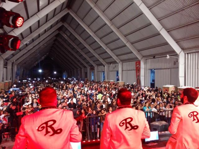 El Recodo se presentó en Guatemala