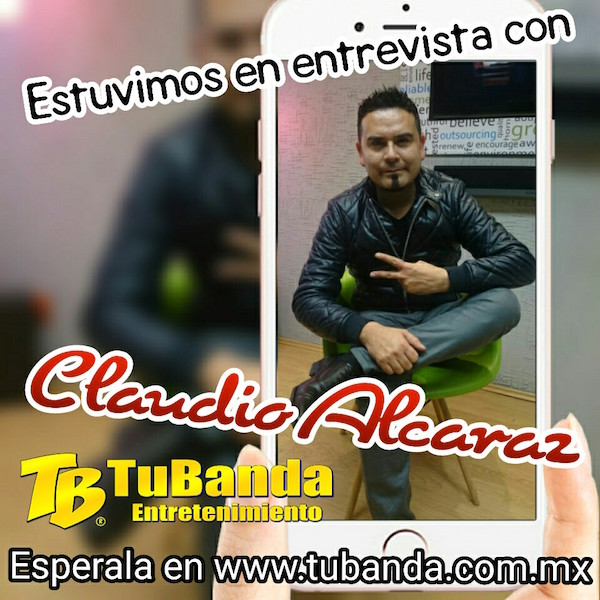 Entrevista Claudio Alcaráz