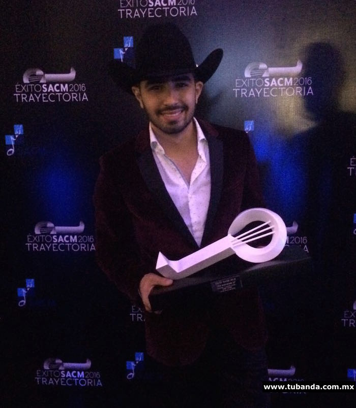Joss Favela - Premios SACM 2016
