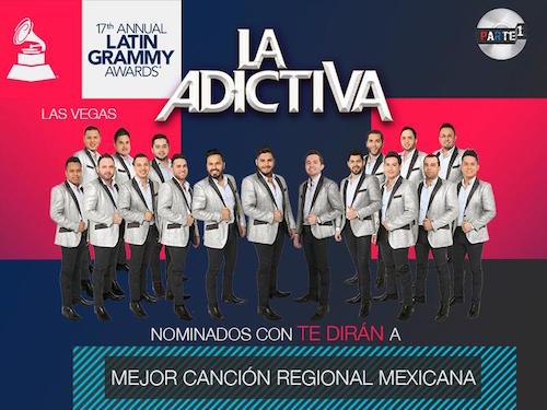 La Adictiva - Latin Grammy 2016