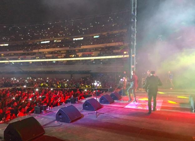 Los Inquietos del Norte - Estadio Azteca