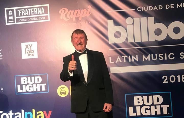 Latin Billboard otorga reconocimiento a Don Germán Lizárraga por su trayectoria y aporte a la música