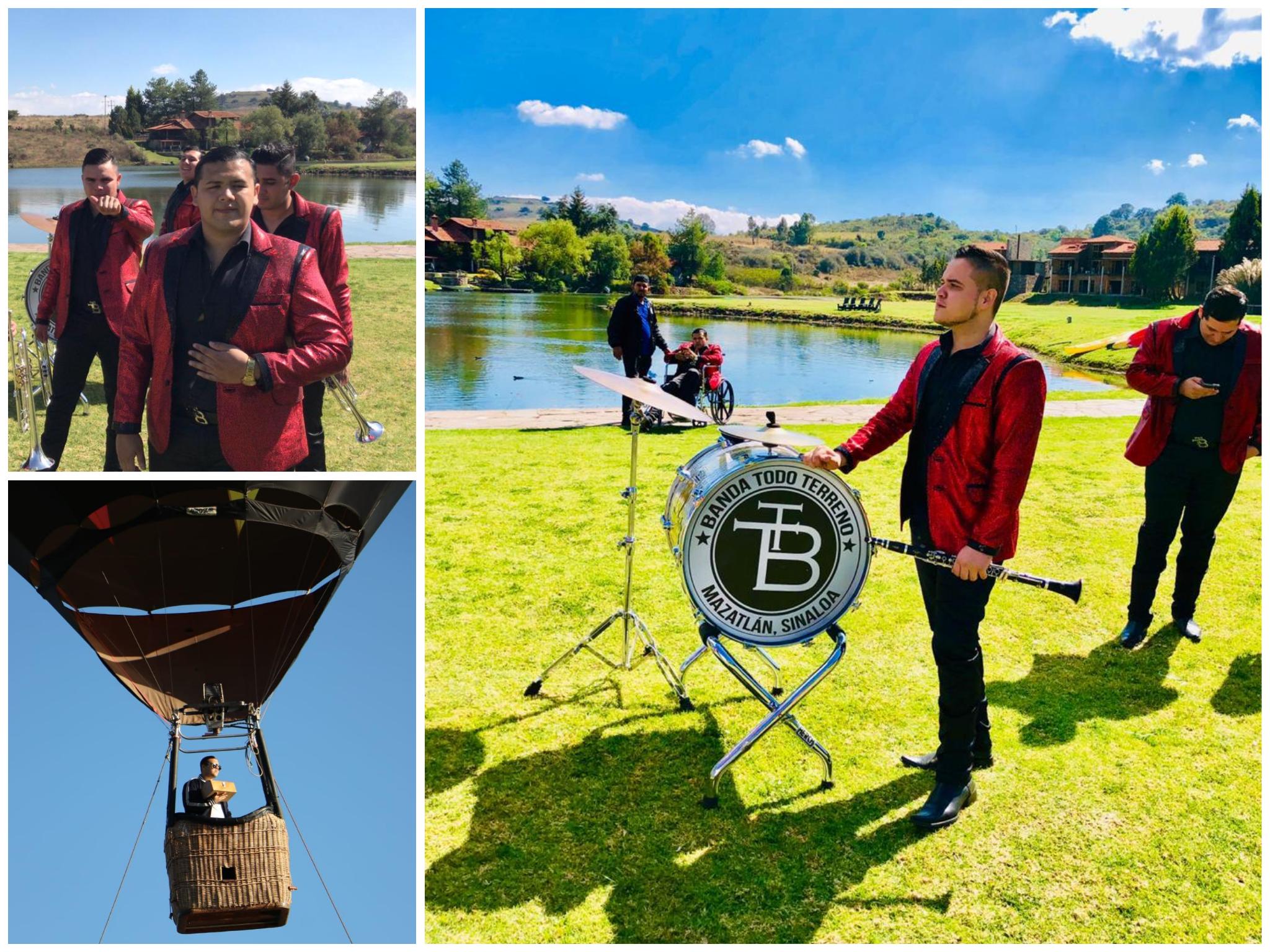 """Banda Todo Terreno graba el video oficial de su sencillo """"Corazón"""""""
