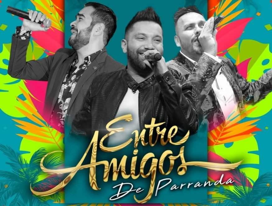 """""""Entre amigos de Parranda"""" actuarán en el cierre del carnaval de Mazatlán 2019"""