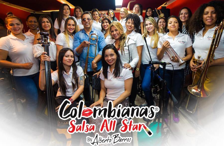 """Alberto Barros inicia el año con """"Bonita y mentirosa"""" y presenta la orquesta """"Colombianas Salsa All Star"""""""