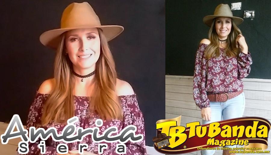 """La entrevista con América Sierra presentando """"De que me sirve"""""""