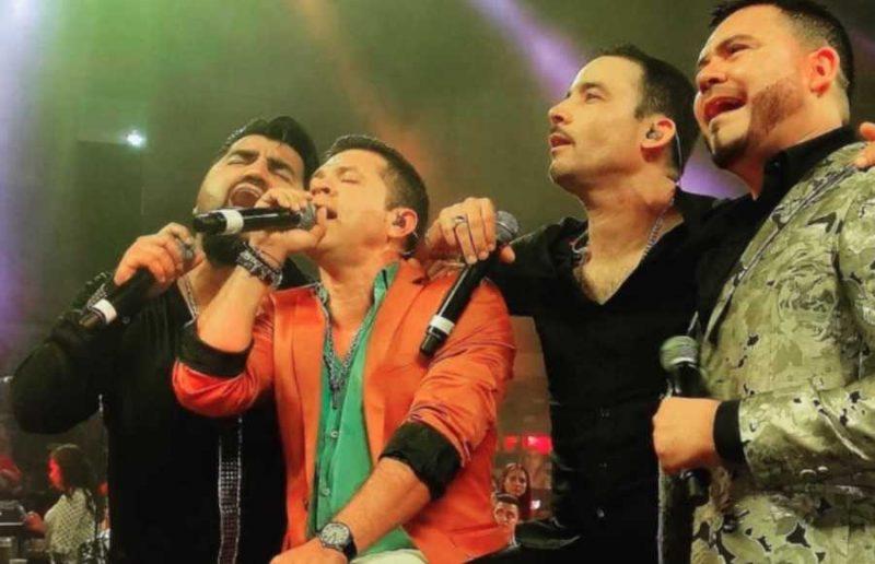 Germán Montero triunfa en Aguascalientes junto a sus compañeros de Las Voces De La Banda.