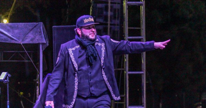 """El Fantasma inicia su gira """"Palabra de Hombre"""" en la CDMX y Jalisco."""