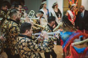 Banda El Recodo lleva su música a Madrid, España.