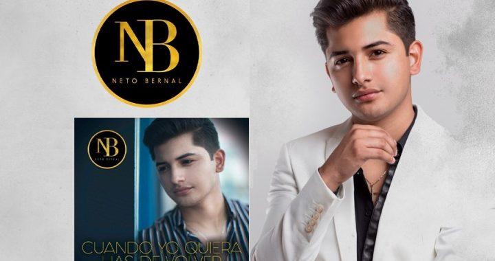 Neto Bernal presenta su nuevo tema con acompañamiento de mariachi.