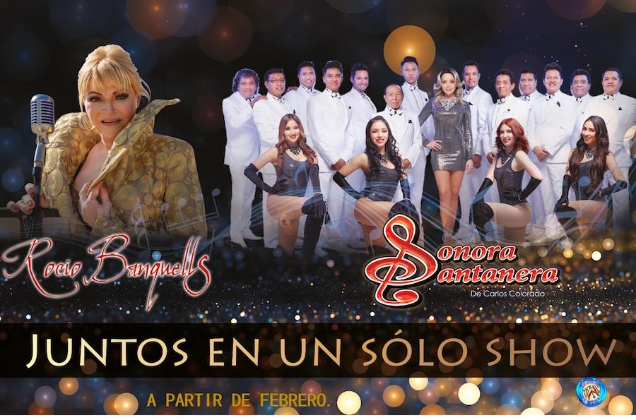"""Se anuncia la gira """"Recuerdos con Rocío Banquells y La Sonora Santanera De Carlos Colorado"""""""