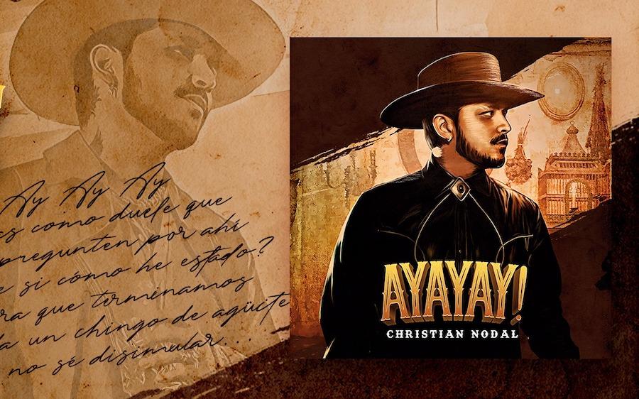 """Christian Nodal presenta su sencillo """"Ayayay!"""""""