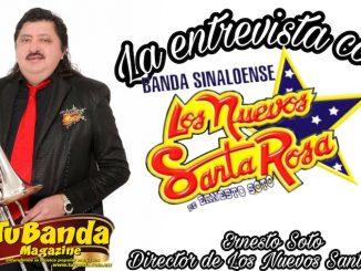 La entrevista con Los Nuevos Santa Rosa de Ernesto Soto