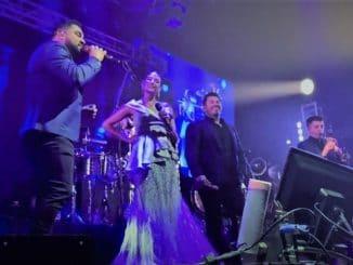 Banda MS regresó a los escenarios junto a Natalia Jiménez.