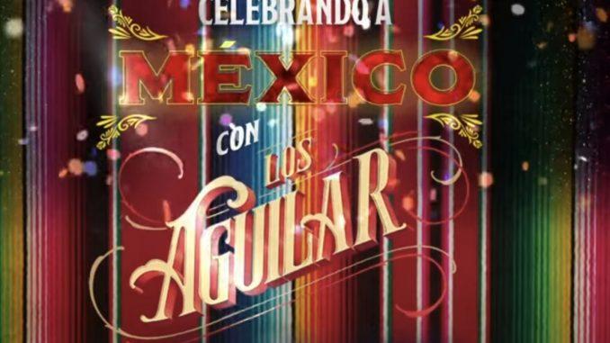 La familia Aguilar celebra las fiestas patrias con vídeo exclusivo.